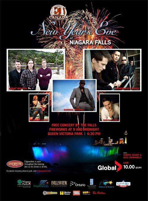Niagara Falls New Years Concert Lineup Announced - Clifton ...