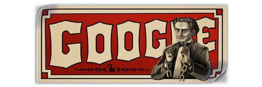 Harry Houdini's 137th birthday marked by Google