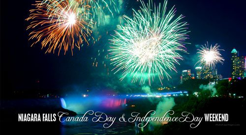 Canada Day Long Weekend Activities in Niagara Falls