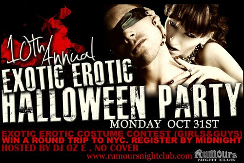 Niagara Falls Exotic Erotic Halloween Party at Rumours Nightclub