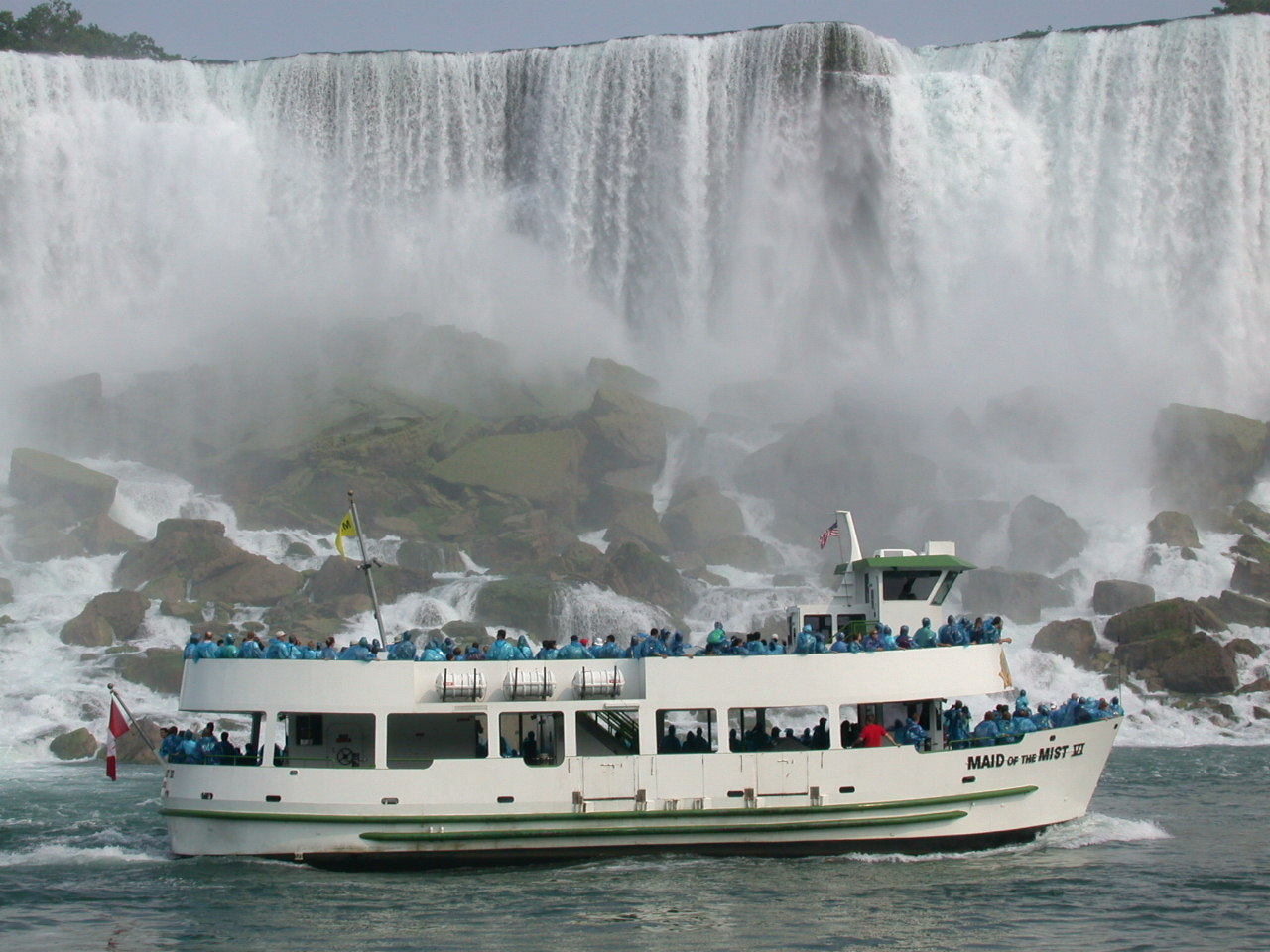 Maid of the Mist in Niagara Falls is open for business!