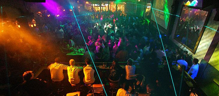 Rumours Nightclub during Memorial Day