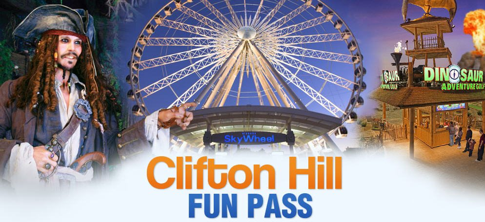 The Best Attraction Savings on Clifton Hill in Niagara Falls…the Fun Pass!