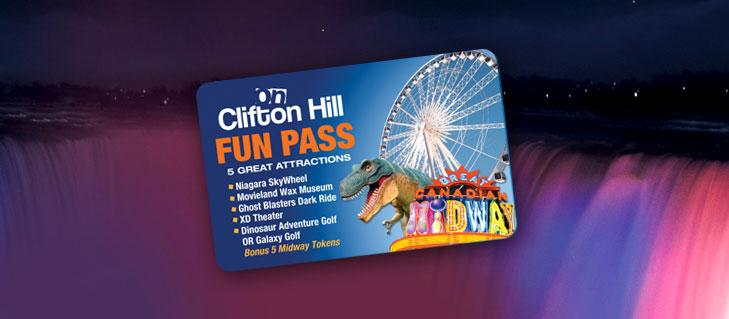 Clifton Hill, Niagara Falls fun pass