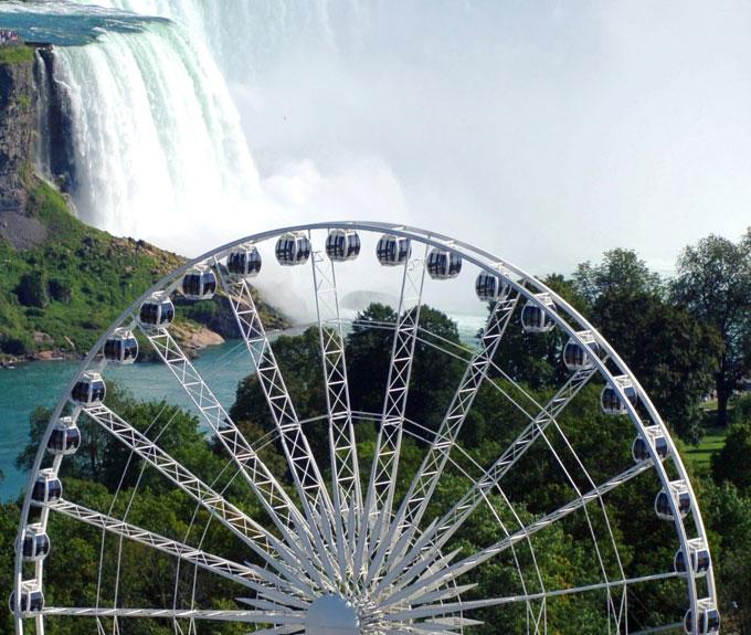 Niagara Skywheel in Niagara Falls