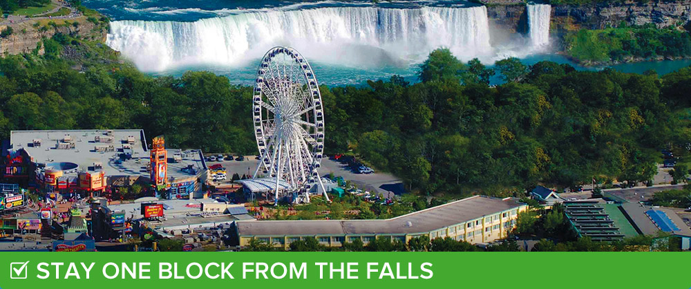 Family vacations at Comfort Inn Clifton Hill in Niagara Falls