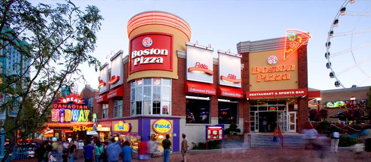 Boston Pizza Clifton Hill in Niagara Falls