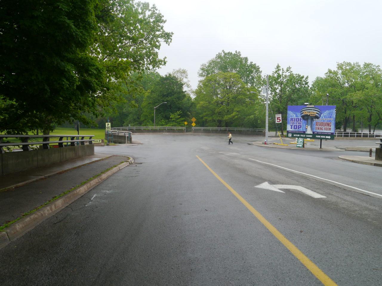 Niagara Falls parking lot