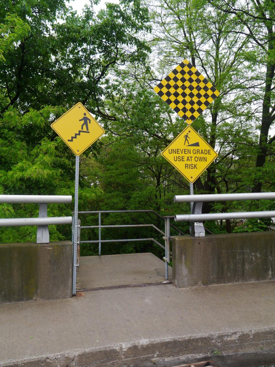Niagara Falls stairway