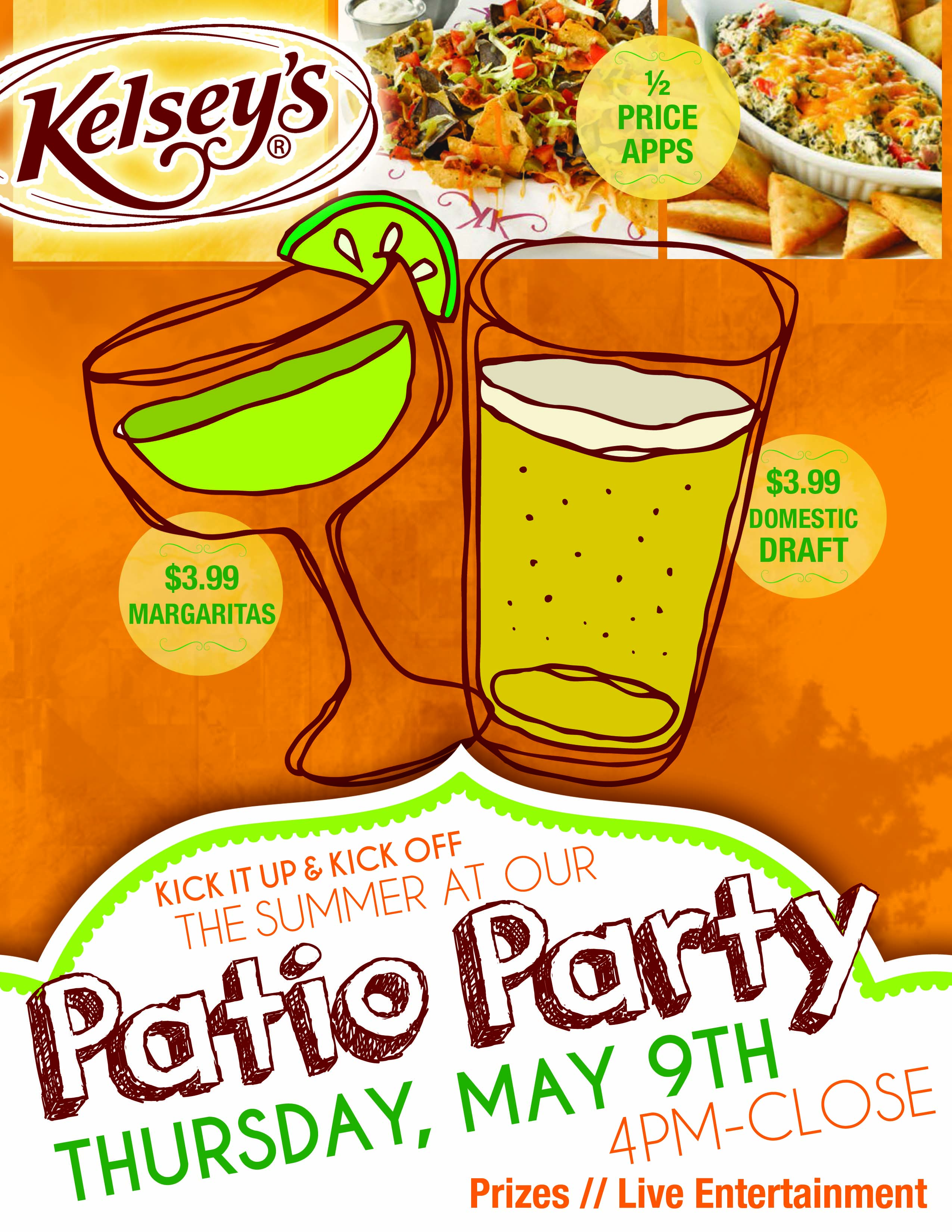Niagara Falls Restaurant Patio Party