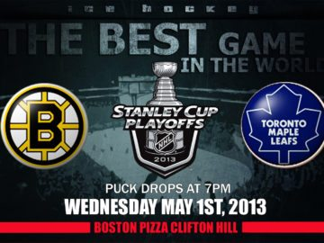 NHL Leafs Bruins