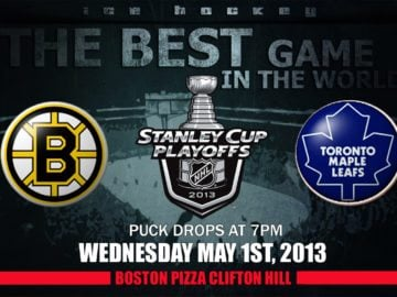 NHL Leafs Bruins