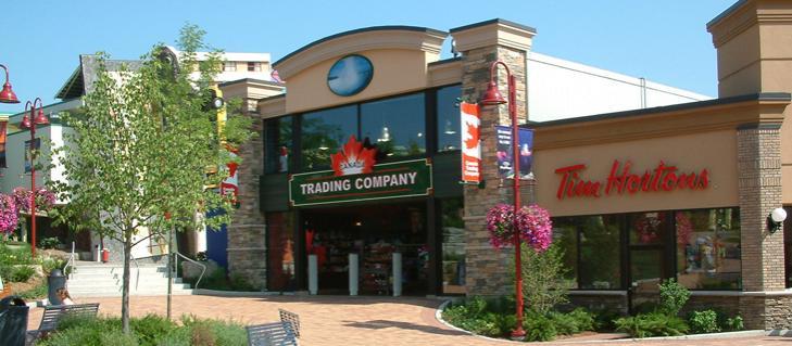 Family vacations in Niagara Falls at the Canada Trading Company