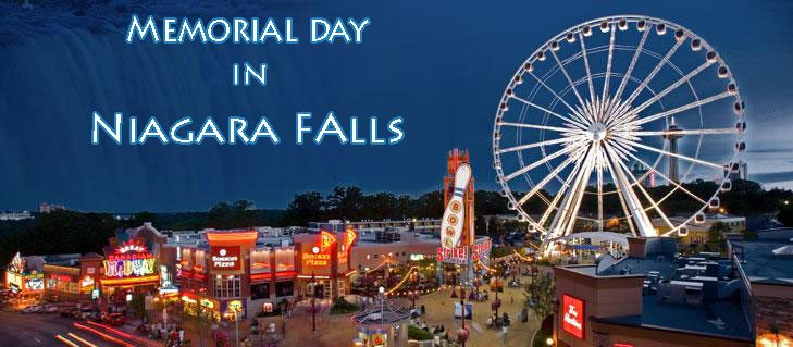 Planning a Memorial Day Getaway to Niagara Falls