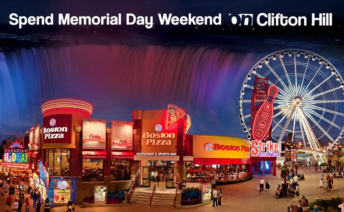 Celebrate Memorial Day 2013 in Niagara Falls!
