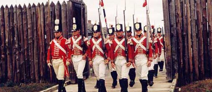 200th Anniversary of the Battle of Fort George Event in Niagara Falls