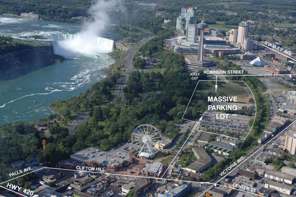 Niagara Falls Parking: A Parking Lot Accessible to Everything!