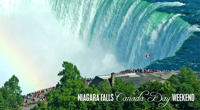 Niagara Falls Canada Day Long Weekend