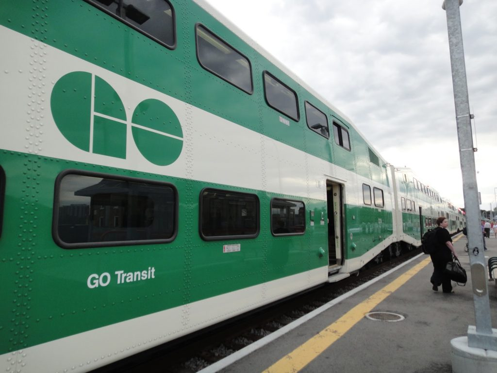 GO Transit Schedule – Go Train to Niagara Falls