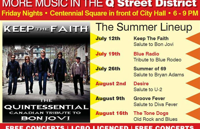 Concerts in Niagara Falls: Music in the Park