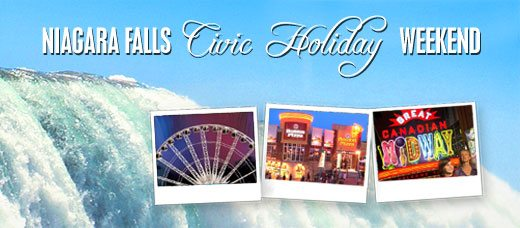 Niagara Falls Civic Holiday Long Weekend Activities