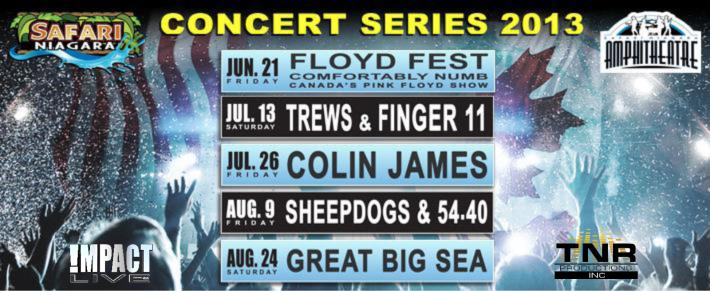 Safari Niagara Construction Holiday concerts