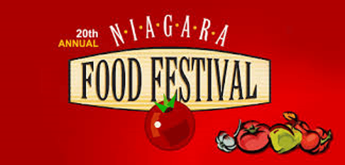 Niagara Food Festival Kicks Off This Weekend!