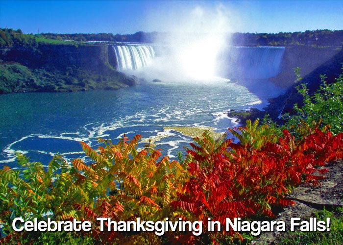 Spend a One-of-a-kind Thanksgiving Weekend In Niagara