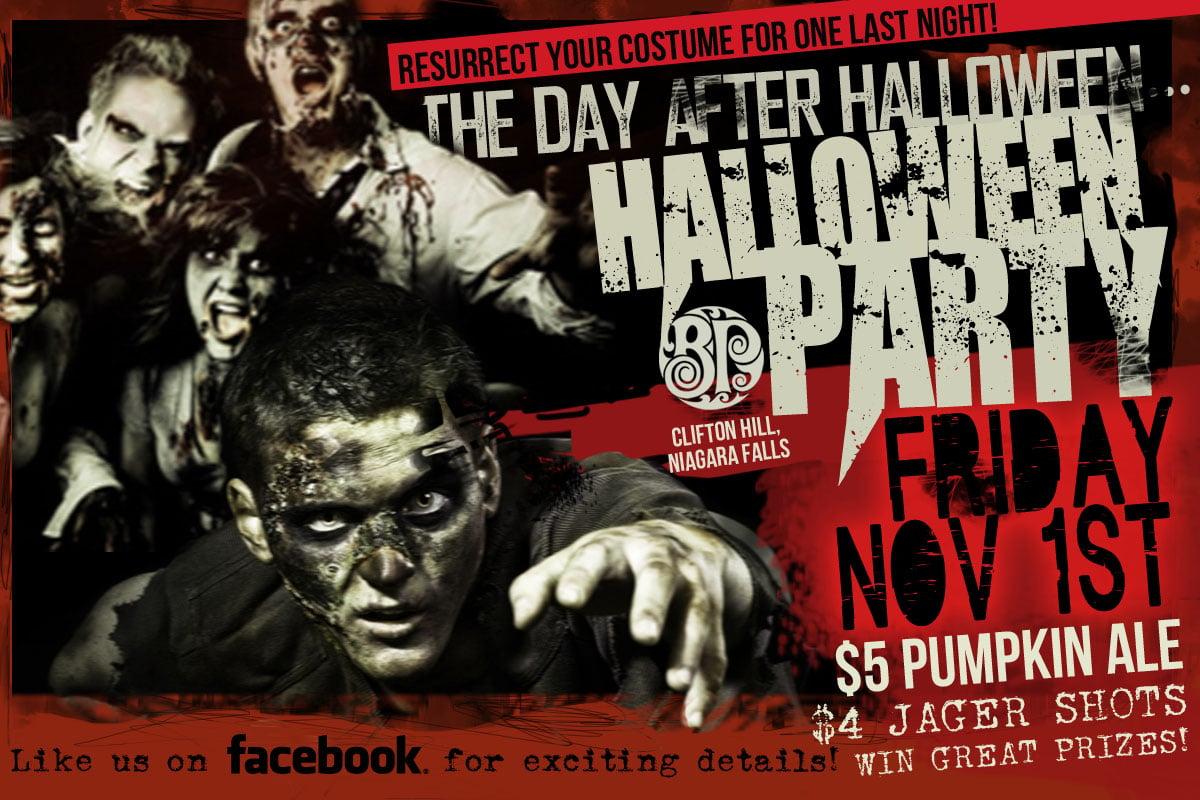 Halloween events in Niagara Falls