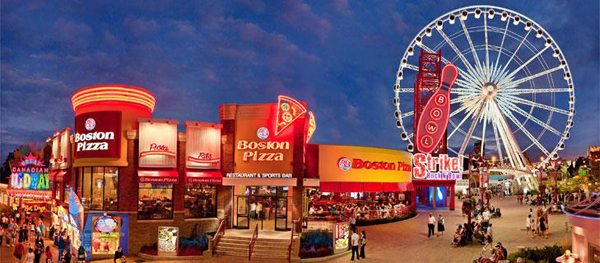 Boston Pizza Clifton Hill