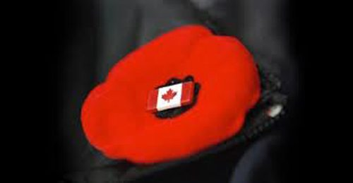 Remembrance Day in Niagara Falls