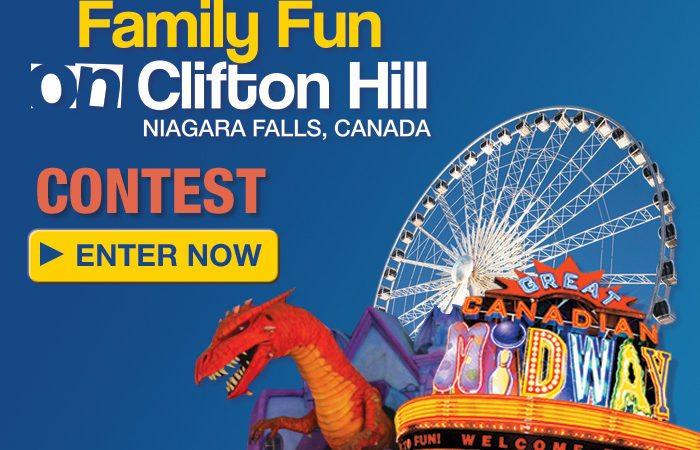 Win a Niagara Falls Family Day Weekend Vacation!