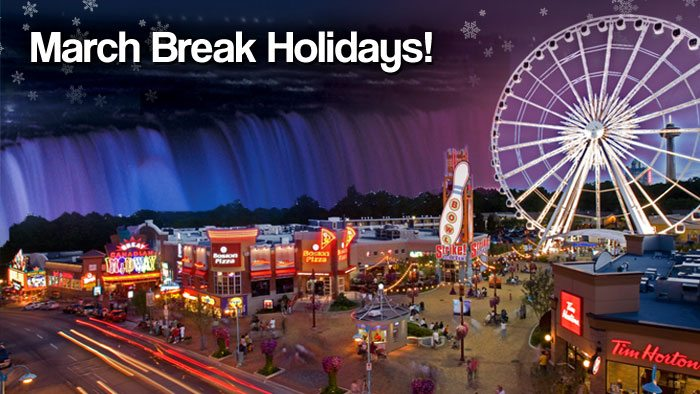 Niagara Falls March Break on Clifton Hill Offers Fun for the Whole Family
