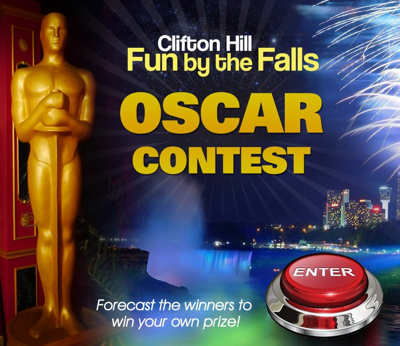 Clifton Hill – Niagara Falls Fun Oscar Nomination Contest!