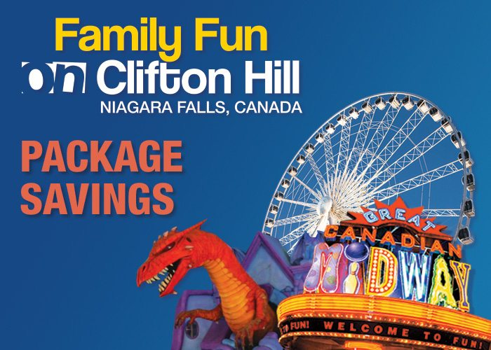 Family Day Niagara Falls packages