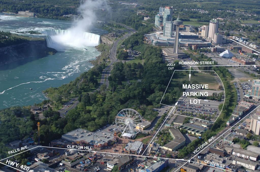Niagara Falls March Break parking