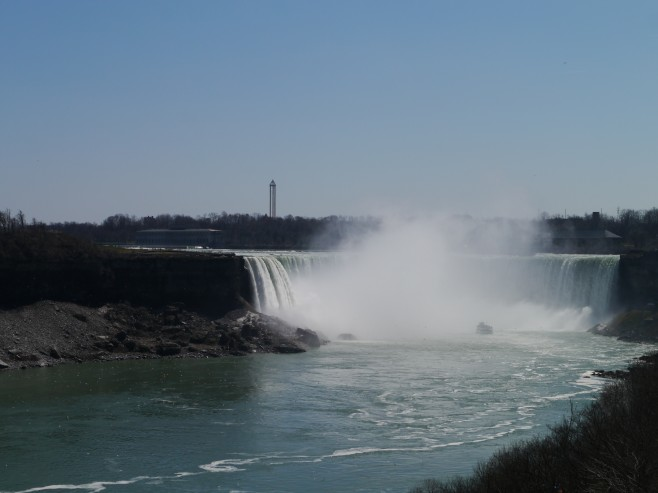 Niagara Falls in April