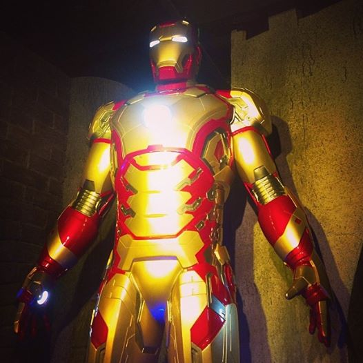 Ironman in Movieland Wax Museum