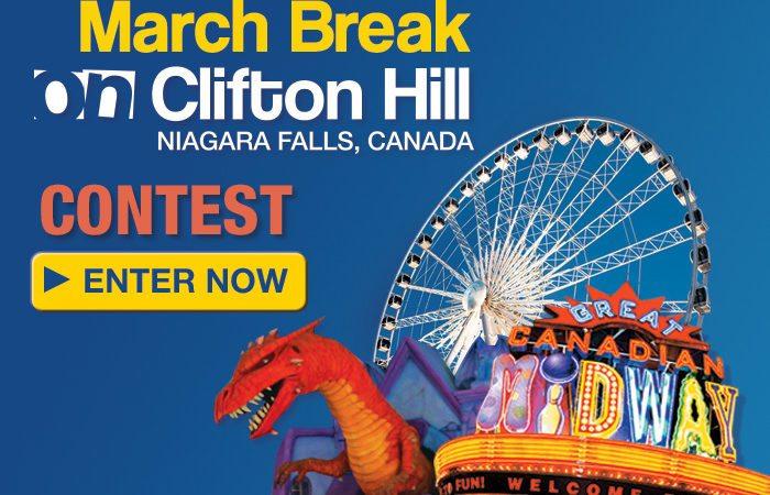 Win A Niagara Falls March Break Family Vacation!