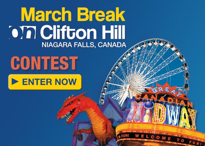 Win A Niagara Falls March Break Family Vacation!