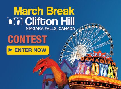 Spring Break Niagara Falls contest