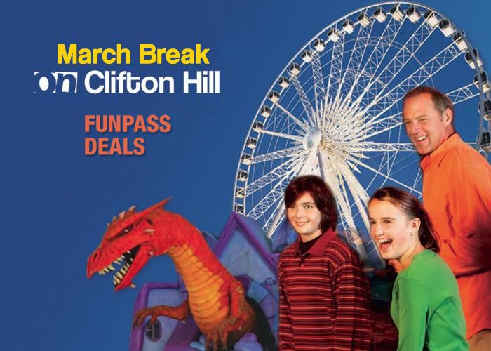 March Break activities for students in Niagara Falls