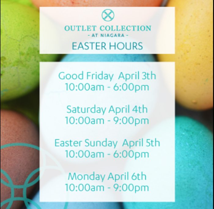 What is open and closer on Easter?