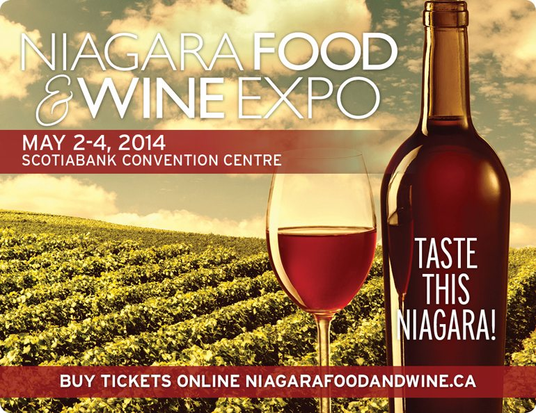 Niagara Food & Wine Expo is Fast Approaching…Will You Be There?