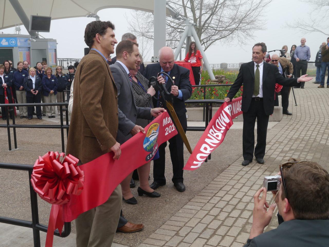 Hornblower Niagara Cruises Unveiling!