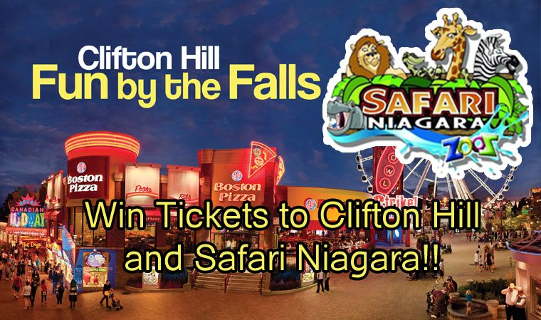 Niagara Falls Summer: Win Tickets to Safari Niagara and Clifton Hill!