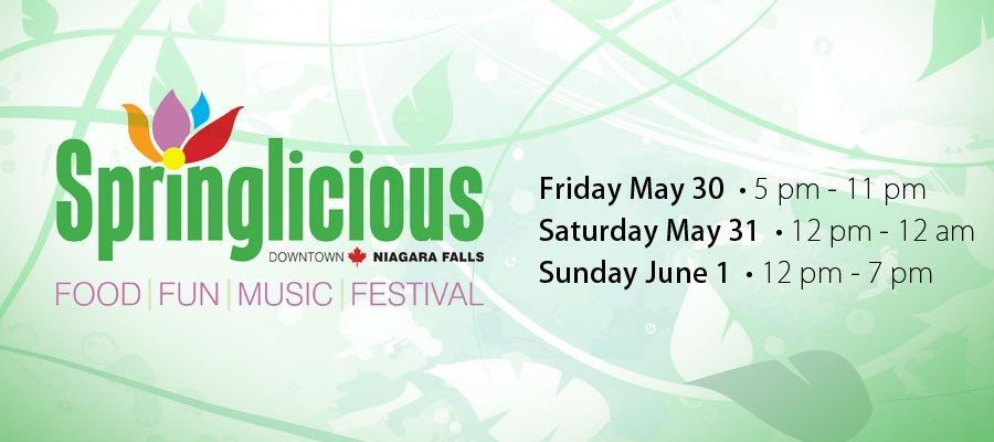 Springlicious is ready to rock Downtown Niagara Falls!