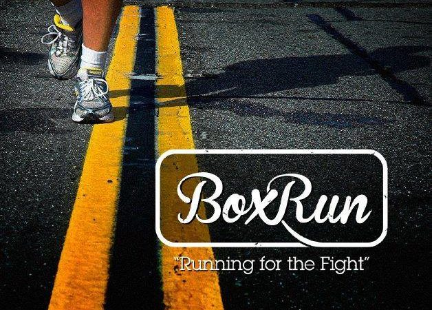 """BoxRun """"Running for the Fight"""": 90 Marathons in 90 Days"""