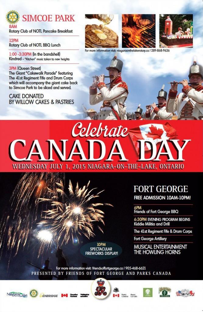 Niagara Falls Canada Day