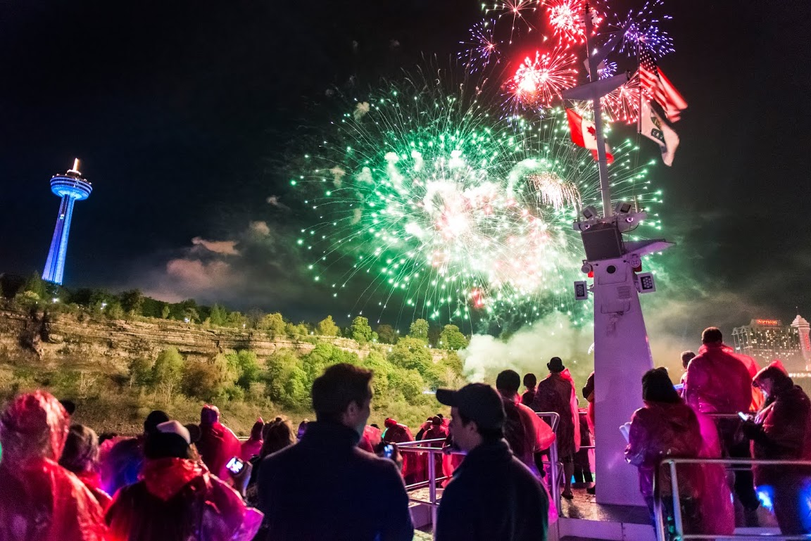 Hornblower Niagara Fireworks Cruises
